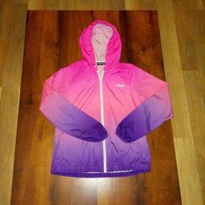 Fila sport track jacket.